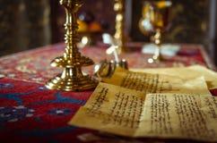 Letra de Shakespeare fotos de stock royalty free