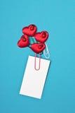 Letra de Valetnine Imagem de Stock Royalty Free
