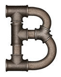 Letra del alfabeto del tubo Imagen de archivo libre de regalías