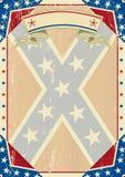 Letra del grunge de Confederatre Foto de archivo libre de regalías