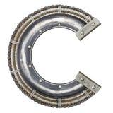 Letra del metal Imagen de archivo
