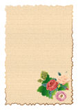Letra do aniversário Fotografia de Stock Royalty Free