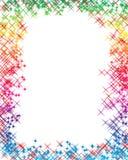 A letra do arco-íris Fotografia de Stock Royalty Free