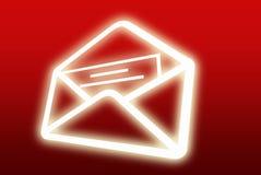 Letra do email Ilustração do Vetor