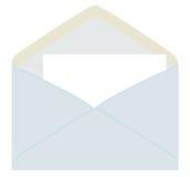 Letra do envelope cinzento Fotos de Stock Royalty Free