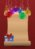Letra do Natal Imagem de Stock Royalty Free