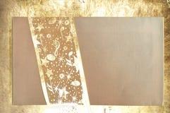 Letra do Natal com laço dourado Foto de Stock
