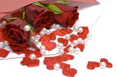Letra do Valentim Imagens de Stock Royalty Free