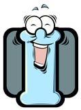 Letra dos desenhos animados Foto de Stock