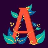 Letra el símbolo de A Diseño de logotipo Diseño gráfico libre illustration