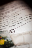 Letra en alemán Imagenes de archivo