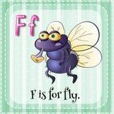 Letra f Fotografía de archivo