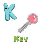 Letra K ilustração stock