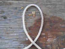 Letra L color occidental rústico del alfabeto de la cuerda Imágenes de archivo libres de regalías