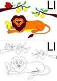 Letra L folha Fotos de Stock