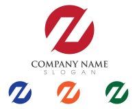 Letra Logo Business de N Imagenes de archivo
