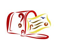 Letra o postal en el buzón