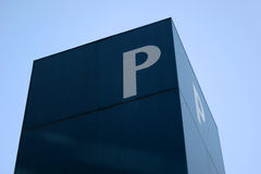 A letra P Foto de Stock