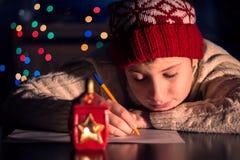 Letra a Papai Noel Fotos de Stock Royalty Free