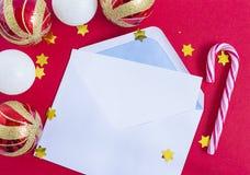 Letra para Santa Fotografia de Stock Royalty Free