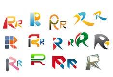 Letra R del alfabeto Imágenes de archivo libres de regalías