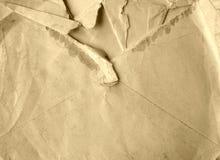 Letra rasgada Foto de archivo libre de regalías