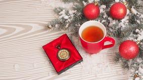Letra retra en fondo de madera Concepto de la Navidad Imágenes de archivo libres de regalías