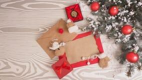 Letra retra en fondo de madera Concepto de la Navidad Imagen de archivo libre de regalías