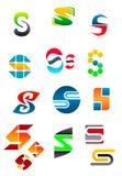 Letra S del alfabeto ilustración del vector