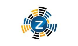 Letra sana Z de la producción del servicio stock de ilustración