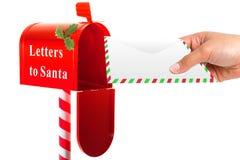 Letra a Santa Foto de Stock Royalty Free