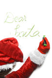 Letra a Santa Imagem de Stock Royalty Free