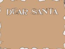 Letra a Santa Imagens de Stock Royalty Free