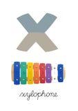 Letra X Imagem de Stock