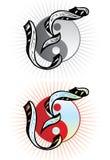 Letra Y do estilo do tatuagem Imagem de Stock