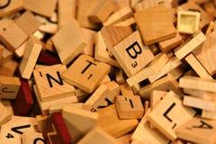Letras Foto de Stock