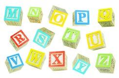 Letras (2) Imagem de Stock