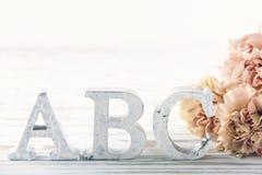 Letras ABC1 Fotos de archivo