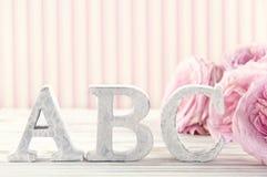 Letras ABC2 Fotos de archivo libres de regalías