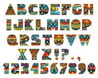 Letras adornadas stock de ilustración