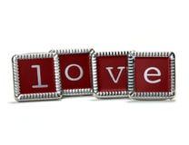 Letras de amor fotografia de stock royalty free