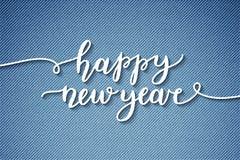 Letras de la Feliz Año Nuevo Fotos de archivo