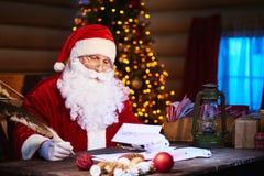 Letras de la Navidad de la lectura Fotografía de archivo libre de regalías