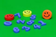 Letras de madeira da cor Foto de Stock Royalty Free