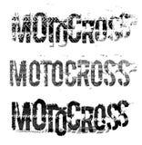 Letras de Moto del neumático Imágenes de archivo libres de regalías