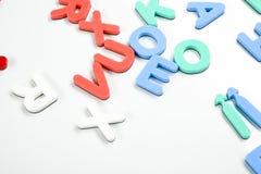 Letras de negócio Imagem de Stock