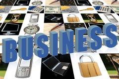 Letras de negócio Fotos de Stock