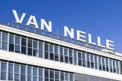 Letras de Van Nelle Fotos de archivo libres de regalías