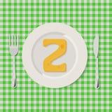 Letras del alfabeto del queso en vector de servicio imagen de archivo