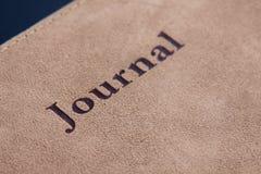 Letras del diario Imagenes de archivo